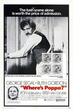 Where's Poppa? - Theatrical release poster