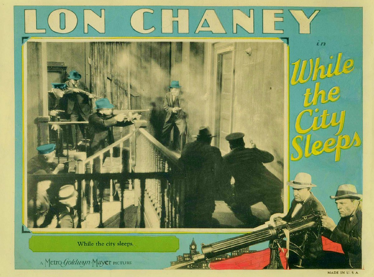 while the city sleeps  1928 film