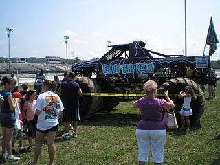 Blue Thunder (truck) monster truck currently racing in the USHRA Monster Jam series