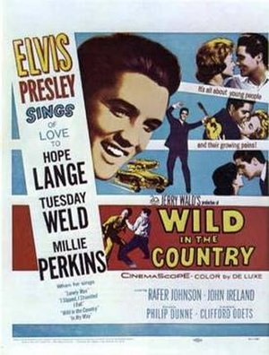 Wild in the Country - Image: Wildinthe Country Movie Poster