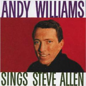 Andy Williams Sings Steve Allen - Image: Williams Allen 2