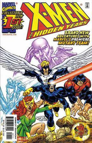X-Men: The Hidden Years - Image: Xmenhiddenyears