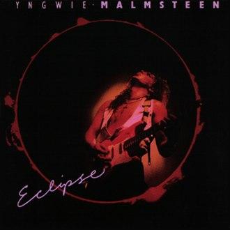 Eclipse (Yngwie Malmsteen album) - Image: Yngwie J Malmsteen Eclipse