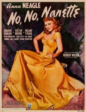 "No, No, Nanette (1940 film) - Image: ""No. No, Nanette"" (1940 film)"