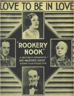 <i>Rookery Nook</i> (film) 1930 film by Tom Walls