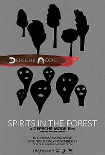 <i>Spirits in the Forest</i> 2019 film directed by Anton Corbijn