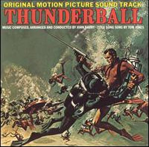 Thunderball (soundtrack) - Image: 007Thunderballsoundt rack 65