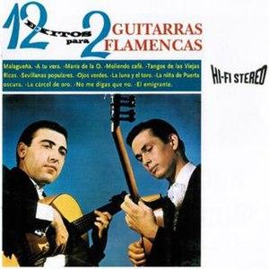 12 éxitos para 2 guitarras flamencas - Image: 12exitospara 2guitarras