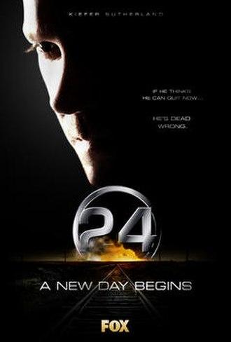 24 (season 4) - Promotional poster
