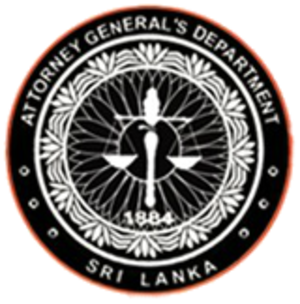 Attorney General of Sri Lanka - Image: A Gdepartment SL