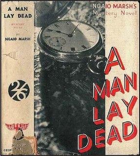 <i>A Man Lay Dead</i>