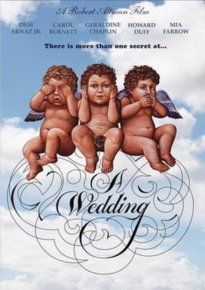 A Wedding - Theatrical release poster