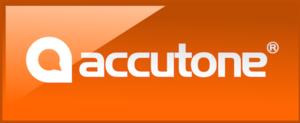 Accutone - Image: Accutone logo