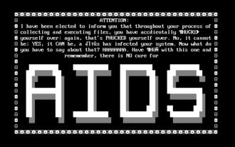 AIDS (computer virus) - Virus image