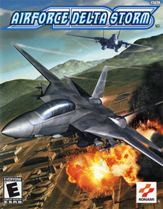 AirForce Delta Storm - North American Xbox cover art