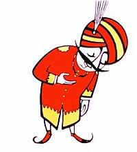 The Maharajah, Air India's mascot