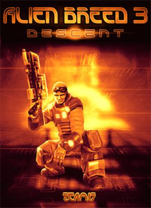 Alien Breed 3: Descent - Image: Alien Breed 3 Descent Coverart