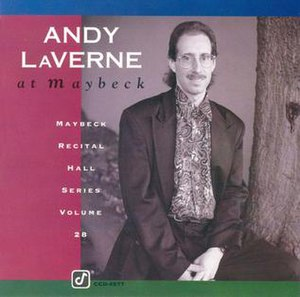 Andy LaVerne at Maybeck - Image: Andy La Verne at Maybeck