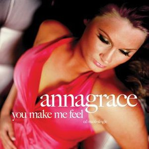 You Make Me Feel (AnnaGrace song) - Image: Annagrace you make me feel US