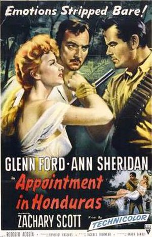 Appointment in Honduras - Theatrical release poster