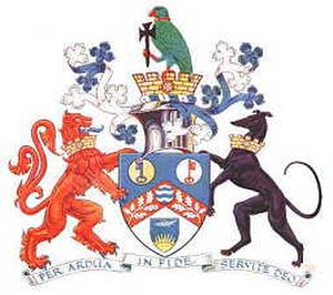 Sutton London Borough Council - Image: Arms sutton lb