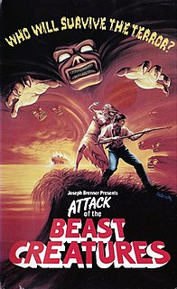 <i>Attack of the Beast Creatures</i> 1985 American horror film