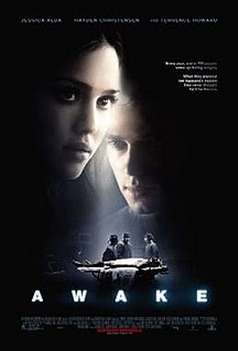 <i>Awake</i> (2007 film) 2007 film directed by Joby Harold