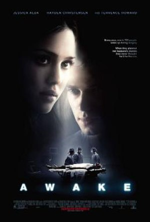 Awake (film) - Theatrical release poster