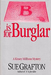 "<i>""B"" Is for Burglar</i>"