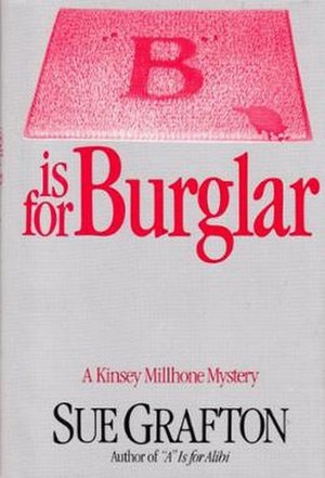 """B"" Is for Burglar - First edition cover"