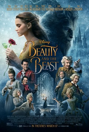 Beauty and the Beast (2017 film) - Theatrical release poster