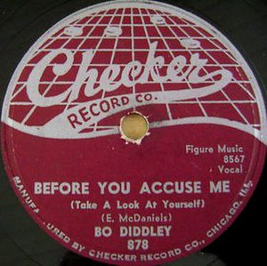 Before You Accuse Me - Image: Before You Accuse Me single cover