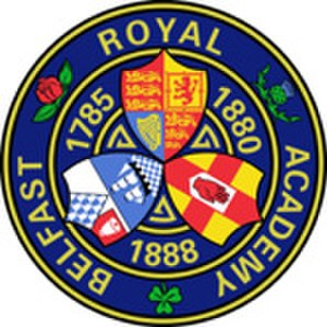 Belfast Royal Academy - Image: Belfast Royal Academy Crest January 2012