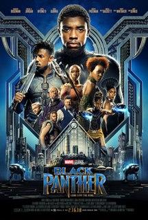 <i>Black Panther</i> (film) 2018 superhero film produced by Marvel Studios