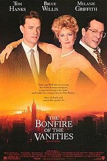 <i>The Bonfire of the Vanities</i> (film) 1990 film by Brian De Palma