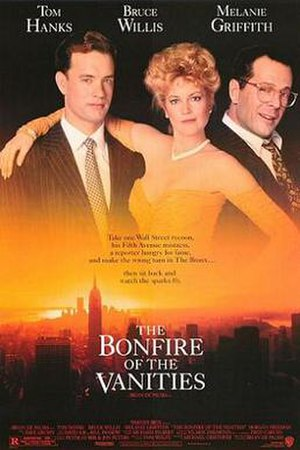 The Bonfire of the Vanities (film) - Theatrical release poster