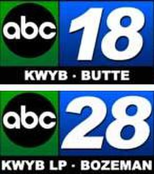 "KWYB - KWYB's ""ABC 18"" and ""ABC 28"" logos, used during the mid-2000s"