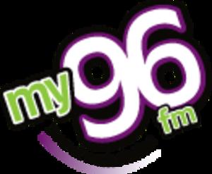 CFMY-FM - Image: CFMY my 96fm logo