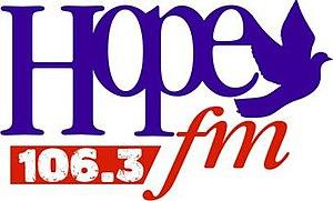 CINU-FM - Image: CINU Hope 106.3fm logo