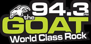 CIRX-FM - Image: CIRX 94.3thegoat logo