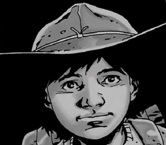 Carl Grimes - Carl Grimes, as depicted in the comic book series. Art by Charlie Adlard