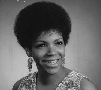 Carolyn Franklin - Franklin in photograph for Atlantic Records, December 1967.