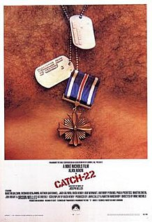 1970 satirical comedy-drama war film directed by Mike Nichols