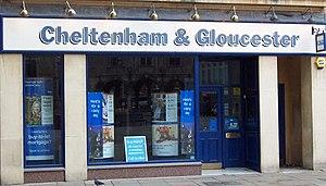Cheltenham & Gloucester - Image: Cheltenham & Gloucester (storefront, 2007)