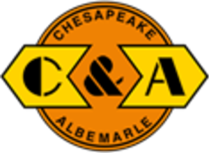 Chesapeake and Albemarle Railroad - Image: Chesapeake and Albemarle Railroad logo