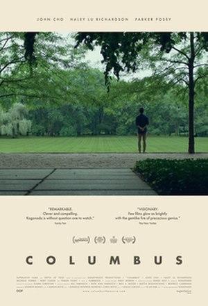 Columbus (2017 film) - Theatrical release poster