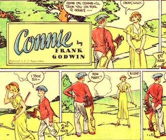 Frank Godwin - Frank Godwin's Connie (September 1, 1935)