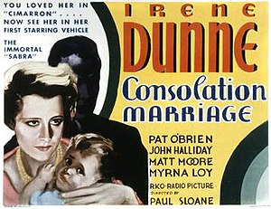 Consolation Marriage - Theatrical release poster