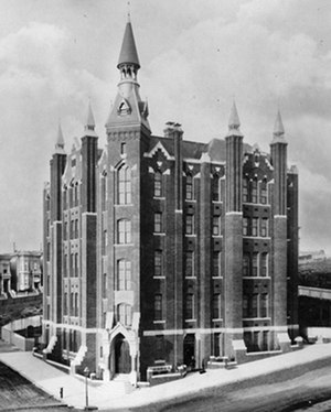 Lane Medical Library - Image: Cooper Medical College 1882 version 2