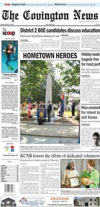 The Covington News - May 28, 2008 edition of The Covington (GA) News